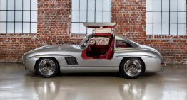Only 130,000 for a Mercedes Gullwing?