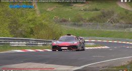 Mercedes-AMG One testing almost undisguised at Nurburgring