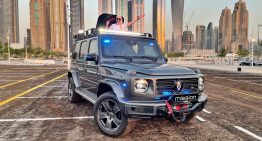 Armored Brabus G-Class – How does it actually look?