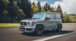 The Brabus 900 Rocket Edition is a highly modified Mercedes-AMG G 63