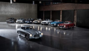 Mercedes SL: Almost 70 years of innovation