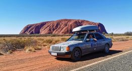 250,000 km and 100 countries in 5 years in a Mercedes 190 D