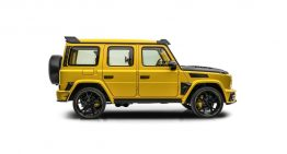 Hello, Bumblebee! Mercedes-AMG G63 in matte yellow by Mansory