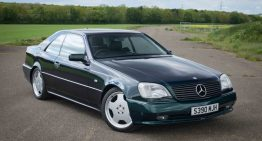 Rare Mercedes-Benz CL 700 AMG for sale. How much does it cost today?