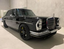 Heart transplant – Mercedes-Benz W108 with the engine of a Mercedes-AMG C 63
