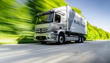 This is the new Mercedes-Benz eActros – The zero-emission truck of the future