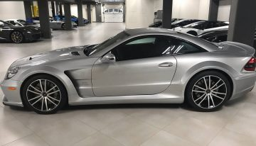 A very rare R230 Mercedes SL65 AMG Black Series with only 10,000 miles for 350,000 USD