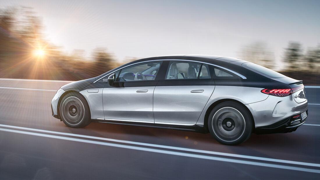 first impressions Mercedes EQS