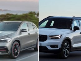 The future Mercedes GLA will have the same hybrid system as the Volvo XC40