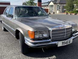 A Mercedes-Benz 450 SEL, that used to belong to Bono from U2, is up for sale