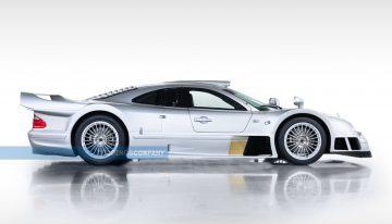 Extraordinarily rare Mercedes-Benz CLK GTR enters auction