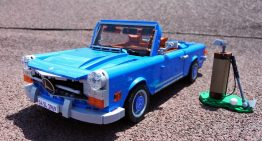 LEGO 1969 Mercedes-Benz 280 SL looks ready for a coast ride