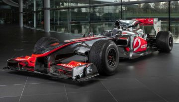 The first racing car Lewis Hamilton drove in Formula 1 sells for millions