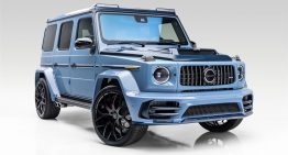 Mercedes-AMG G63 by Mansory – Extravaganza in blue