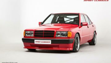 Mercedes-Benz 190E with Brabus makeover is now for sale