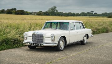 Mercedes-Benz 600, once owned by George Harrison, is for sale