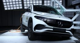 Mercedes-Benz GLA and EQA score 5 out of 5 stars at the Euro NCAP crash tests
