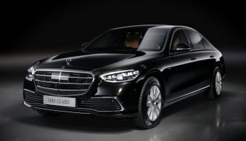 New Mercedes-Benz S 680 Guard 4MATIC. The 4.2-ton armored saloon