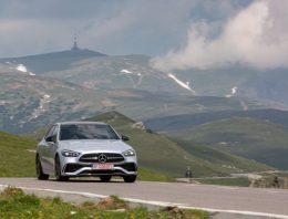 First test Mercedes C-Class W206: Much more than a mini S-Class