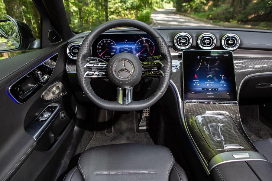 dashboard Mercedes C-Class W206