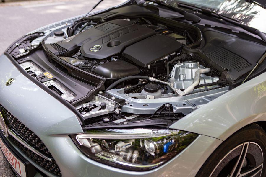 engine mercedes C 300 d 2021