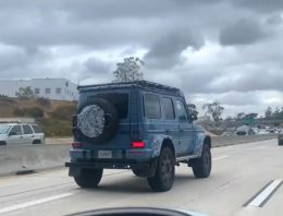 Just seen in California. Mercedes-Benz G500 4×4² is extravagance on wheels