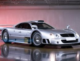 A very rare Mercedes AMG CLK GTR for sale at Pebble Beach on August 13-14