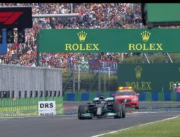 Unique moment în Formula 1. Lewis Hamilton, the only driver on the starting grid at Hungaroring