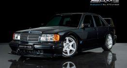 A very rare Mercedes 190 Evo II for sale for almost half a million USD
