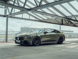 Brabus and Fostla partner up to turn the Mercedes-AMG GT 63 S into a machine gun
