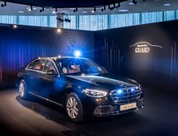 Mercedes-Benz S 680 GUARD 4MATIC. The company finally presents the details of the armored saloon