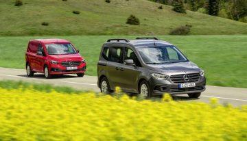 The new Mercedes Citan Panel Van and Tourer