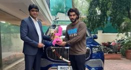 Bollywood actor Arjun Kapoor has his brand-new Mercedes-Maybach GLS 600 delivered