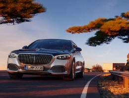Mercedes celebrates the anniversary of the Maybach brand with the Edition 100