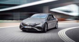 Mercedes EQS – What is the EPA estimated range of the electric luxury sedan