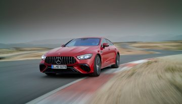 The first high-performance hybrid from Mercedes-AMG is here. Meet the Mercedes-AMG GT 63 E Performance