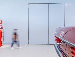 "The secret of the ""concrete"" doors in the Mercedes-Benz Museum"