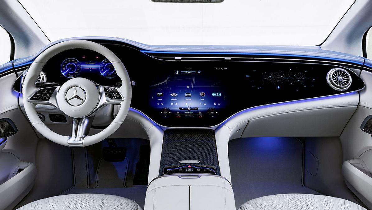 dashboard Mercedes EQE