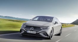 Official: Mercedes EQE with a range up to 660 km