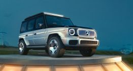 Mercedes EQG: a concept close to series production of a future electric G-Class