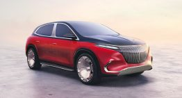 Mercedes-Maybach EQS is a luxury SUV and the first fully electric Maybach