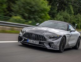First co-driver review in the new Mercedes SL