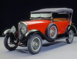 The first Mercedes compressor cars were revealed at the DAA 1921