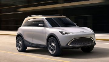 Smart electric SUV Concept #1 on Geely platform and Mercedes design