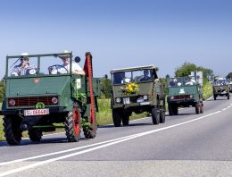 The Mercedes-Benz Unimog convoy – This is how the omnipotent truck celebrates its 75th anniversary