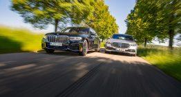 Test Mercedes S 400 d 4Matic vs BMW 740 d xDrive