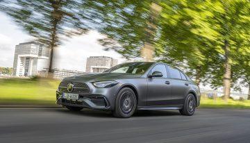 The new Mercedes C 300 e Plug-In Hybrid sedan and estate