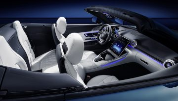 Mercedes-AMG SL interior pictures ahead of official presentation