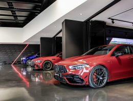 Mercedes-AMG has opened a new delivery hall in Afflaterbach