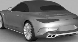 Mercedes-AMG SL patent design photos leaked ahead of official reveal